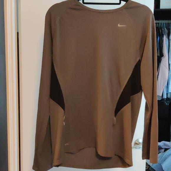 Nike Fit Dry Grey long sleeve L